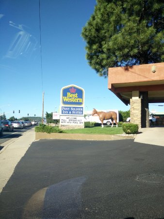 BEST WESTERN Pony Soldier Inn & Suites: Insegna...