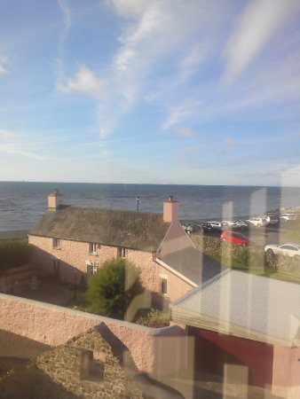 Aberaeron, UK: Sea view
