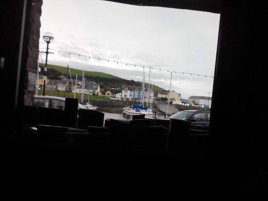 Aberaeron, UK: Harbour view