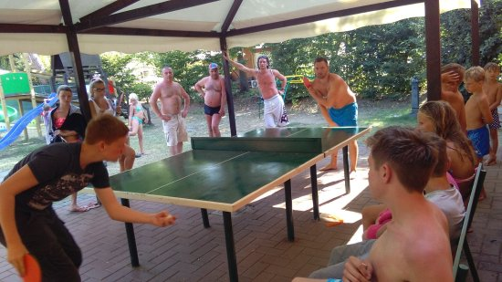 Magione, İtalya: Torneo di ping pong