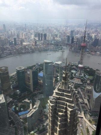 Shanghai World Financial Center: the view