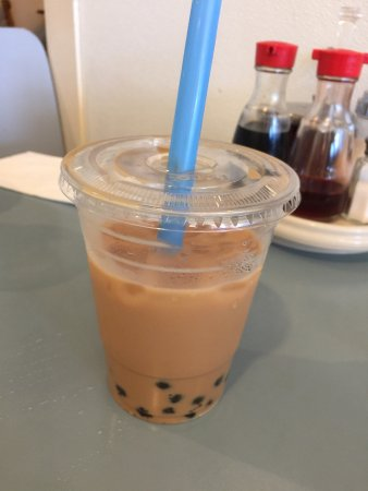 Daly City, كاليفورنيا: Milk tea with pearl