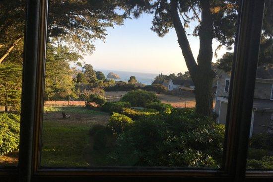 Glendeven Inn Mendocino: View from the Bay Loft room