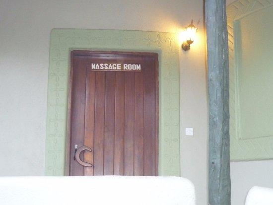 Lake Manyara National Park, Tanzanya: A massage Room