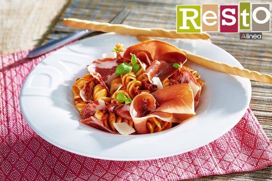 Pontault Combault, France : Pâtes arrabiata Restaurant Alinéa Resto