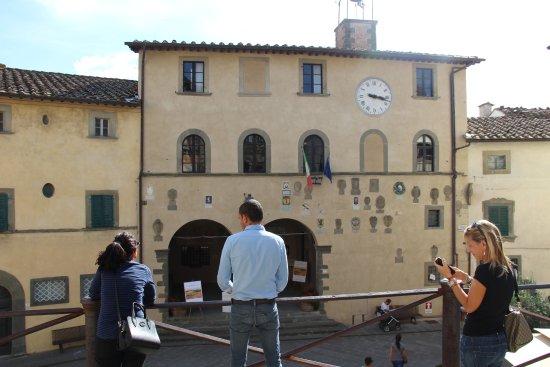 Radda in Chianti, Italia: il palazzo del podestà