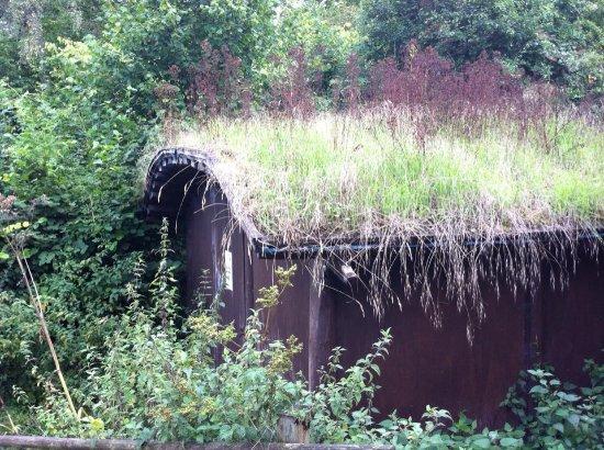 Henley-on-Thames, UK: Hide at Warburg Nature Reserve