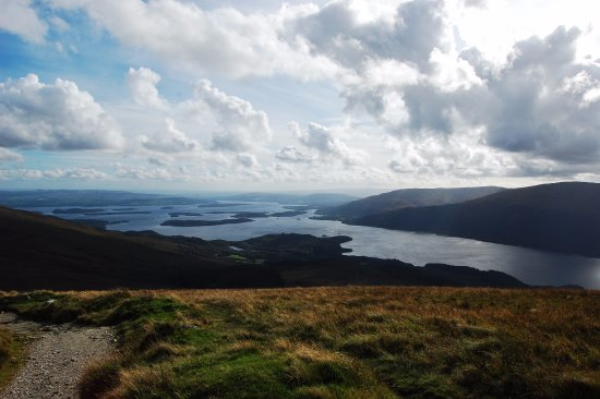 Rowantree Cottage Bed and Breakfast: view from Ben Lomond