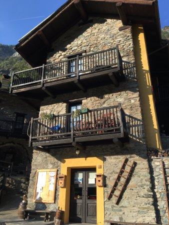Antey Saint Andre, Italien: Ingresso residence