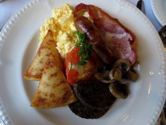 Auldgirth, UK: Full Scottish breakfast