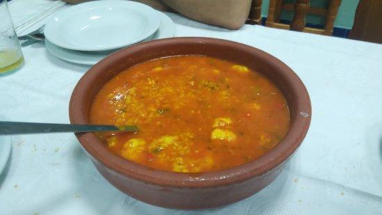 Puerto Real, España: Cazuela de arroz para 3