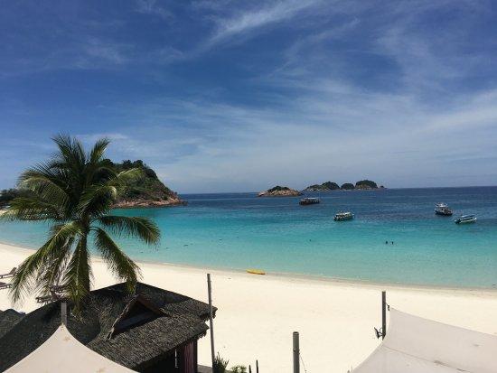 Laguna Redang Island Resort: view from the buffet restaurant