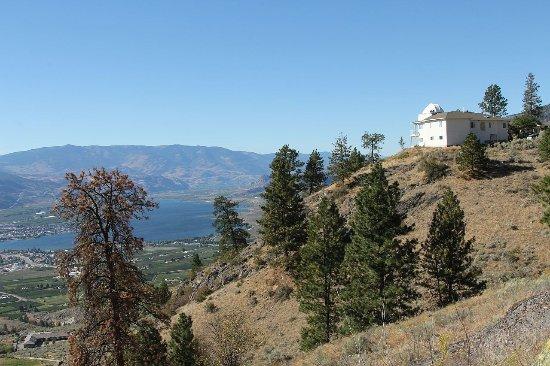 Observatory Bed & Breakfast : De Observatory en het uitzicht omlaag