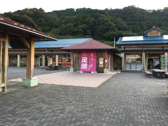 Kaizu, Japan: 道の駅 月見の里南濃
