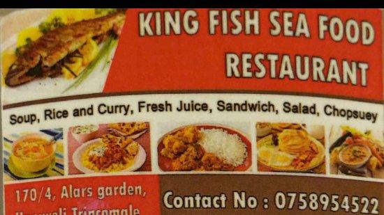 king fish seafood restaurant details