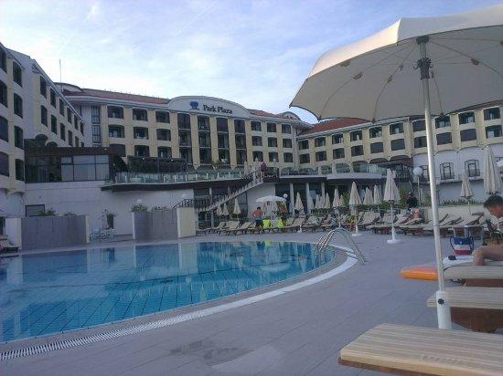 Park Plaza Histria Pula: Hotel Pool