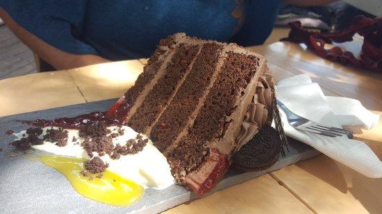 Pietermaritzburg, Sør-Afrika: Chocolate cake
