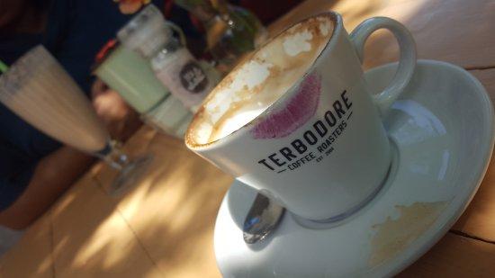 Pietermaritzburg, Sør-Afrika: Coffee and chocolate milkshake