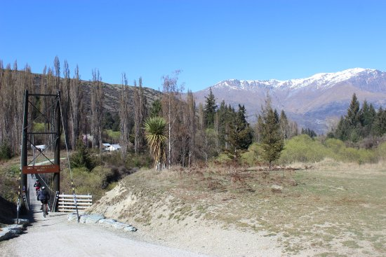 Arrowtown, Nieuw-Zeeland: Southern Discoveries Bridge