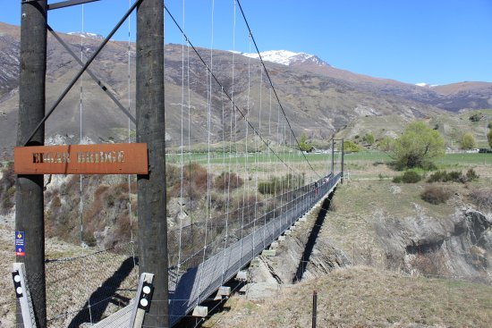 Arrowtown, Nieuw-Zeeland: Edgar Bridge over Kawarau Gorge