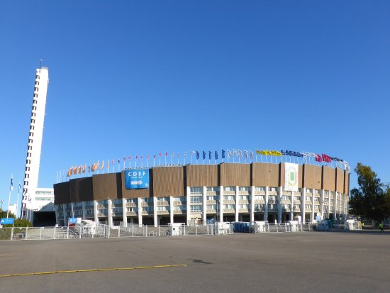 Olympic Stadium (Olympiastadion): Olympic Stadium and tower