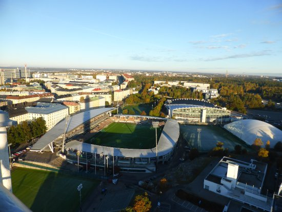 Olympic Stadium (Olympiastadion): view from the Olympic Tower