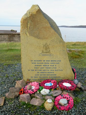 Aultbea, UK: The Memorial