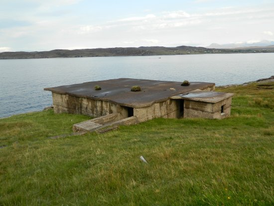 Aultbea, UK: WW11 Buildings