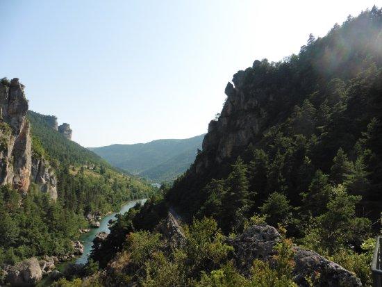 Les Vignes, Frankrijk: vue de là-haut