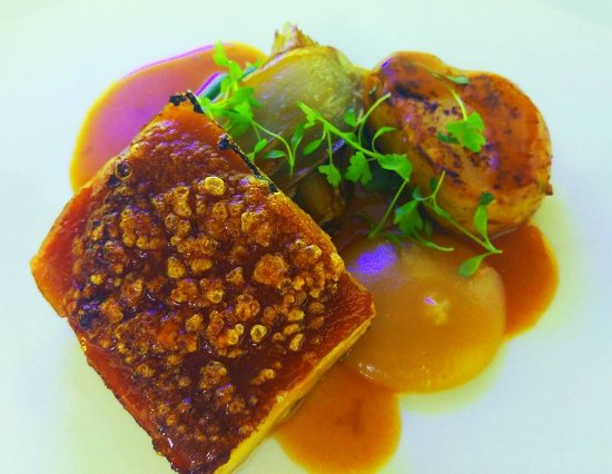Thorpe le Soken, UK: Pork Belly