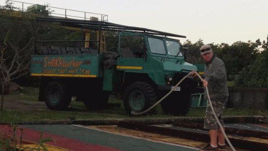 St Lucia, Republika Południowej Afryki: Vehiculo de recogida