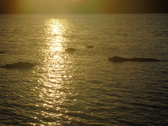 St Lucia, Sør-Afrika: Puesta de sol