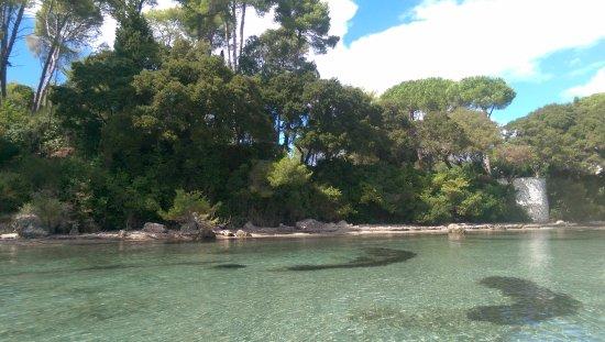 Kontokali Bay Resort and Spa: crystal clear waters ....
