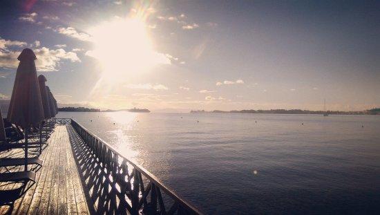Kontokali Bay Resort and Spa: Beautiful sunrise at the beach