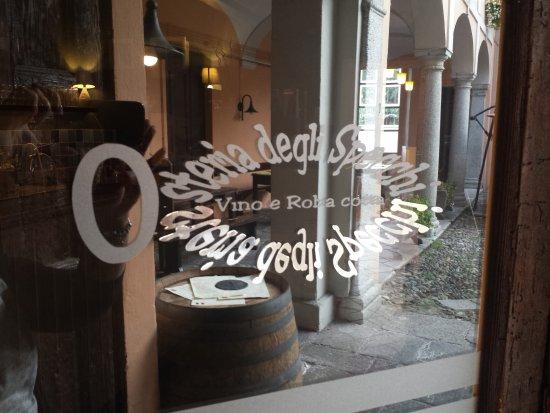 Pallanza, Italia: Osteria degli Specchi