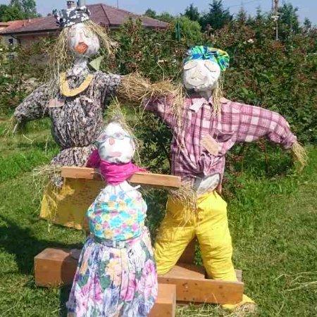 Origgio, Italia: Una famiglia un po particolare ... bravi bambini!!!