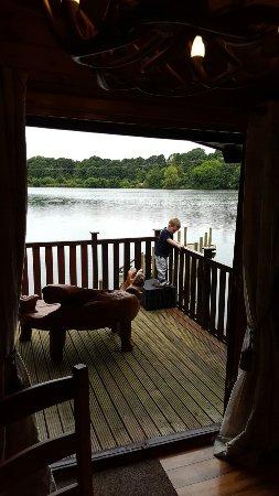 Forton, UK: Rutledge family break.