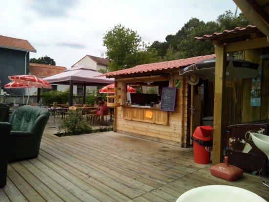 Lacanau, Francia: la roulotte...