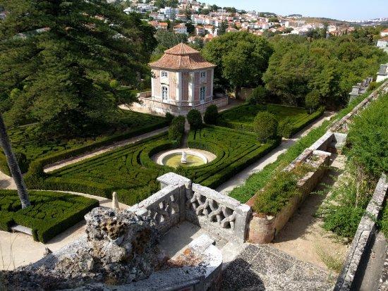 Oeiras, Portugal: jardim