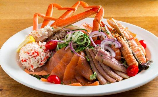 The seafood bar seafood restaurant van baerlestraat 5 for Seafood bar van baerlestraat amsterdam