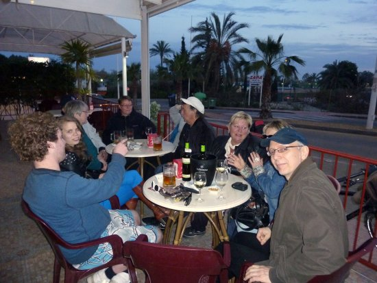 Region of Murcia, สเปน: View twards the camping
