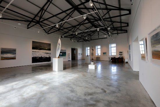 St Just, UK: Jackson Foundation Main Gallery Space.