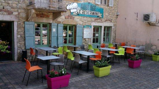 Meillonnas, فرنسا: Auberge Du Revermont