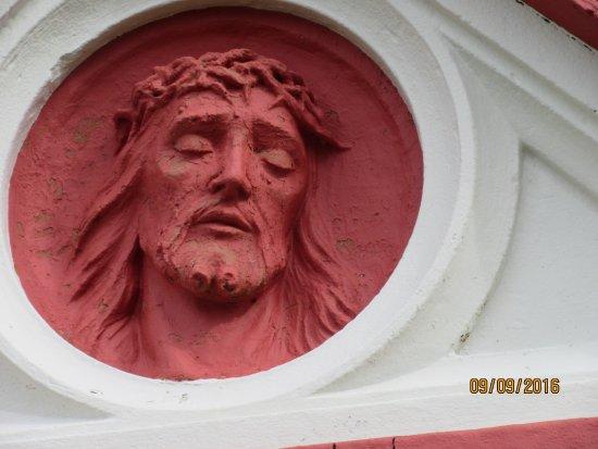 St. Mary's, UK: above the door