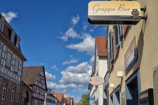 Florsheim, Tyskland: Blick aus der Hauptstraße