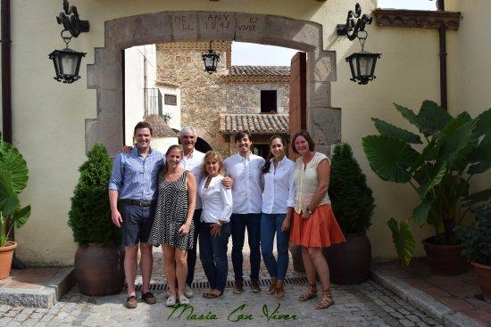 Bigues i Riells, Spanyol: Familia Olson de Chicago