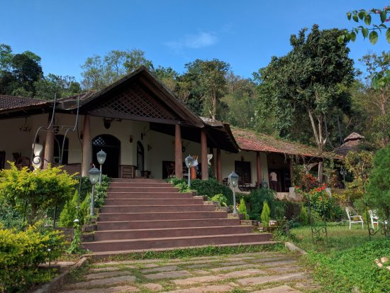 club house entrance picture of old kent estates coorg