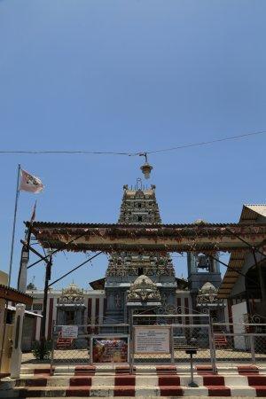 Mannar, Sri Lanka: The Kovil entrance
