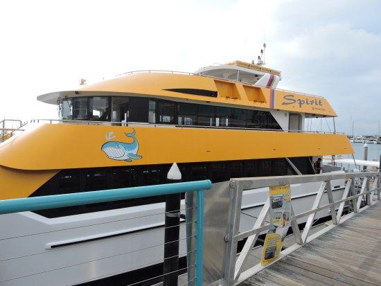 Urangan, Australia: Boat
