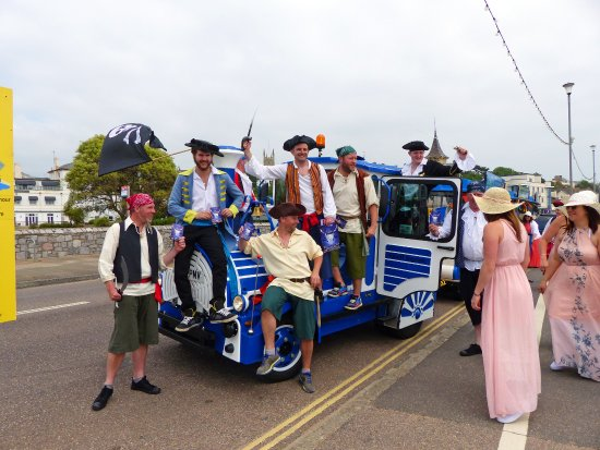 Exmouth, UK: The day we were attacked by pirates!